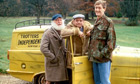 Uncle Albert, Del Boy, Rodney and the Robin Reliant.