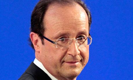 Francois Hollande, presidential front-runner