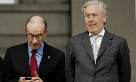 Alan Greenspan and Mervyn King