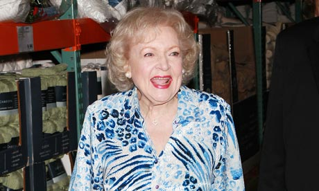 Betty White Book Signing For