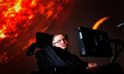 Stephen Hawking, 70