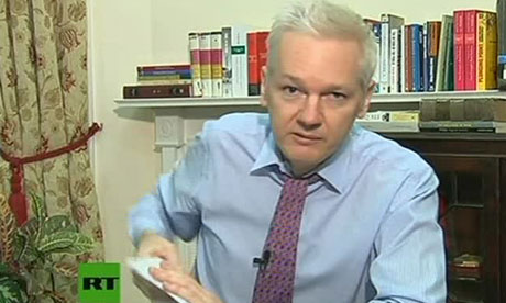 Julian Assange's room at the Ecuadorean embassy: a glimpse inside
