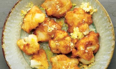 Dan Lepard's pear and rice fritters