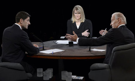 Martha Raddatz moderates vice presidential debate