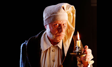 Ebenezer Scrooge … so not a good mini-break look.