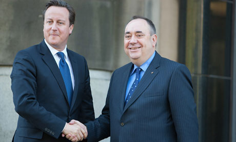 David Cameron and Alex Salmond Meet To Set Out Independence Referendum Deal