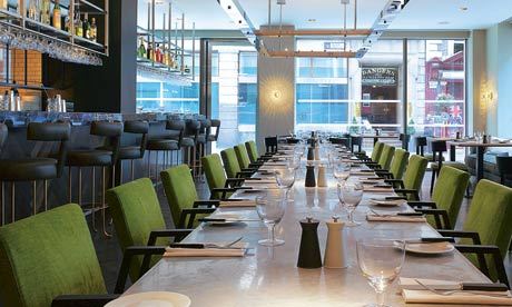 Restaurant: South Place Hotel