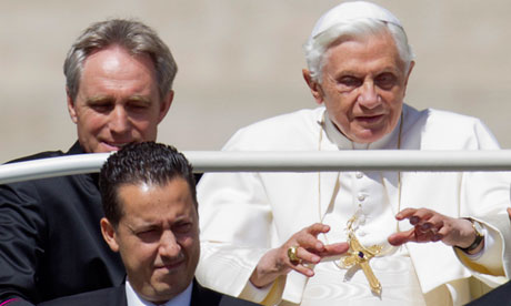 Pope Benedict and his butler