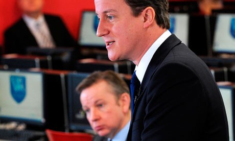 David Cameron and Michael Gove
