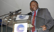 Bitange Ndemo, permanent secretary at Kenya's information and communications ministry
