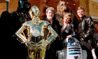 Will they be back? The original cast with George Lucas in 1997