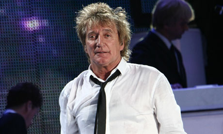 Rod Stewart performs during the free for all Connection Concert in Budapest, Hungary  - 26 Jun 2010