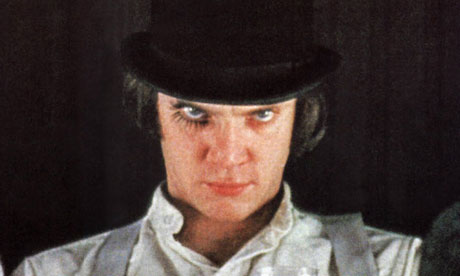 A Clockwork Orange, starring Malcolm McDowell, is showing in the BBFC's Uncut season