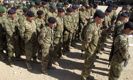 British soldiersin Helmand province