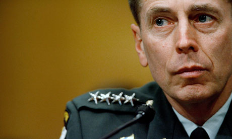 David Petraeus denies classified leaks ahead of Benghazi testimony | US news | The Guardian - David-Petraeus-008