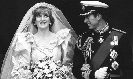 princess of wales wedding photo