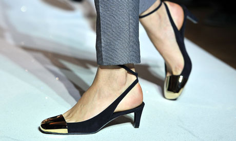 Yves Saint Laurent's suede Ingenue pump, as championed my Alexa Chung.