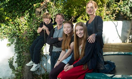 Lizzie Enfield and family