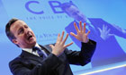 David Cameron at the CBI annual conference