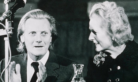 Heseltine with Margaret Thatcher in 1975.