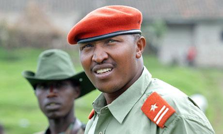 General Bosco Ntaganda, pictured in January 2009,