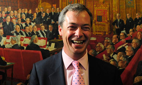 Nigel Farage, leader of Ukip, 2009