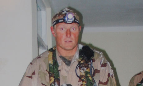 Former SAS soldier Danny Nightingale