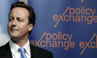 Policy Exchange David Cameron