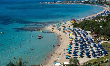 Ayia Napa beach Cyprus