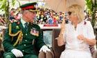 Prince Charles and Camilla Duchess of Cornwall Diamond Jubilee Tour, Papua New Guinea  - 04 Nov 2012