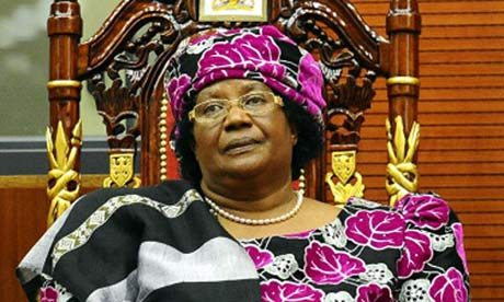 Malawi's President Joyce Banda 