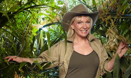 Nadine Dorries on I'm a Celebrity … Get Me Out of Here.
