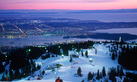 Grouse Mountain, Vancouver in Canada