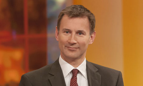 Health disservice … Jeremy Hunt on ITV's Daybreak last month.