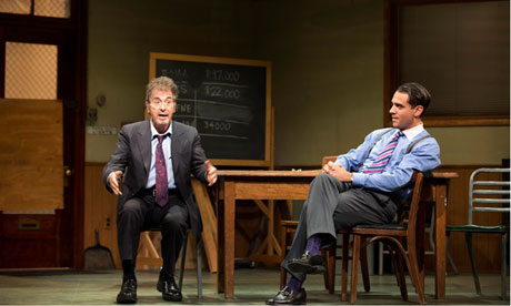 Al Pacino and Bobby Cannavale in Glengarry Glen Ross