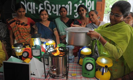 Solar lanterns and clean cooking stoves