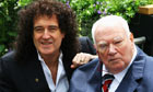 Brian May and Sir Patrick Moore