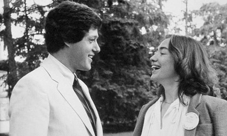 Hillary and Bill Clinton, 1969