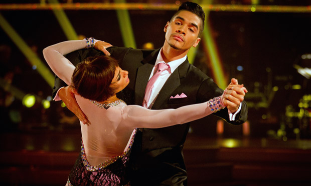 Louis Smith and Flavia Cacace in Strictly Come Dancing 2012