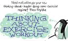 The Stephen Collins cartoon: exercise plan