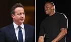 David Cameron and Dr Dre