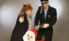 Shane McGowan and Kirsty MacColl 