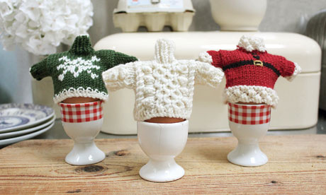 Egg Cosy Knitting Pattern Mini Jumpers