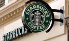 Starbucks sign outside branch