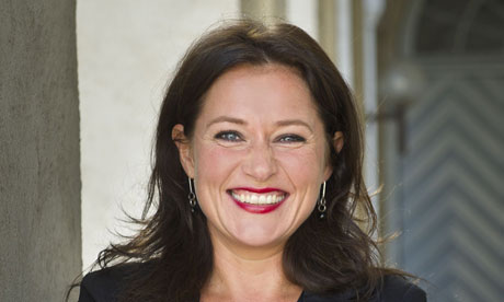 Sidse Babett Knudsen, who plays the prime minister in Borgen