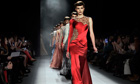 Jenny Packham collection at New York Fashion Week