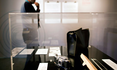 Exhibition in Tel Aviv on capture and trial of Adolf Eichmann
