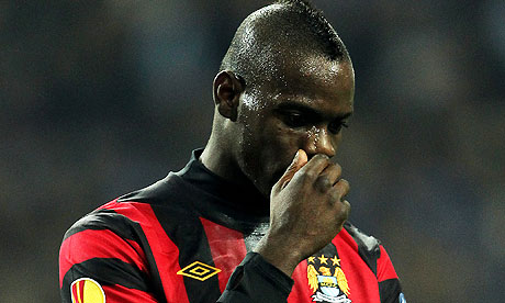 Yaya Touré and Mario Balotelli accuse Porto fans of racist abuse Manchester City lodge complaint to Uefa match delegate. Balotelli says supporters were making monkey noises