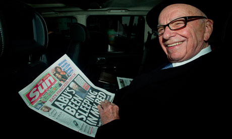 Rupert Murdoch announces new Sun on Sunday