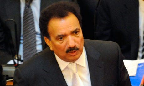Pakistan's interior minister, Rehman Malik, above, briefs lawmakers in the Sindh provincial assembly in Karachi about asking Interpol to help arrest Pervez Musharraf